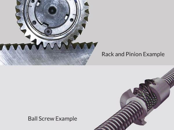 Ball Screw Vs Rack Amp Pinion Cnc Router Machines Cnc Router Tables Shopsabre Cnc