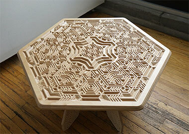 Sacred Geometry 3D Carving