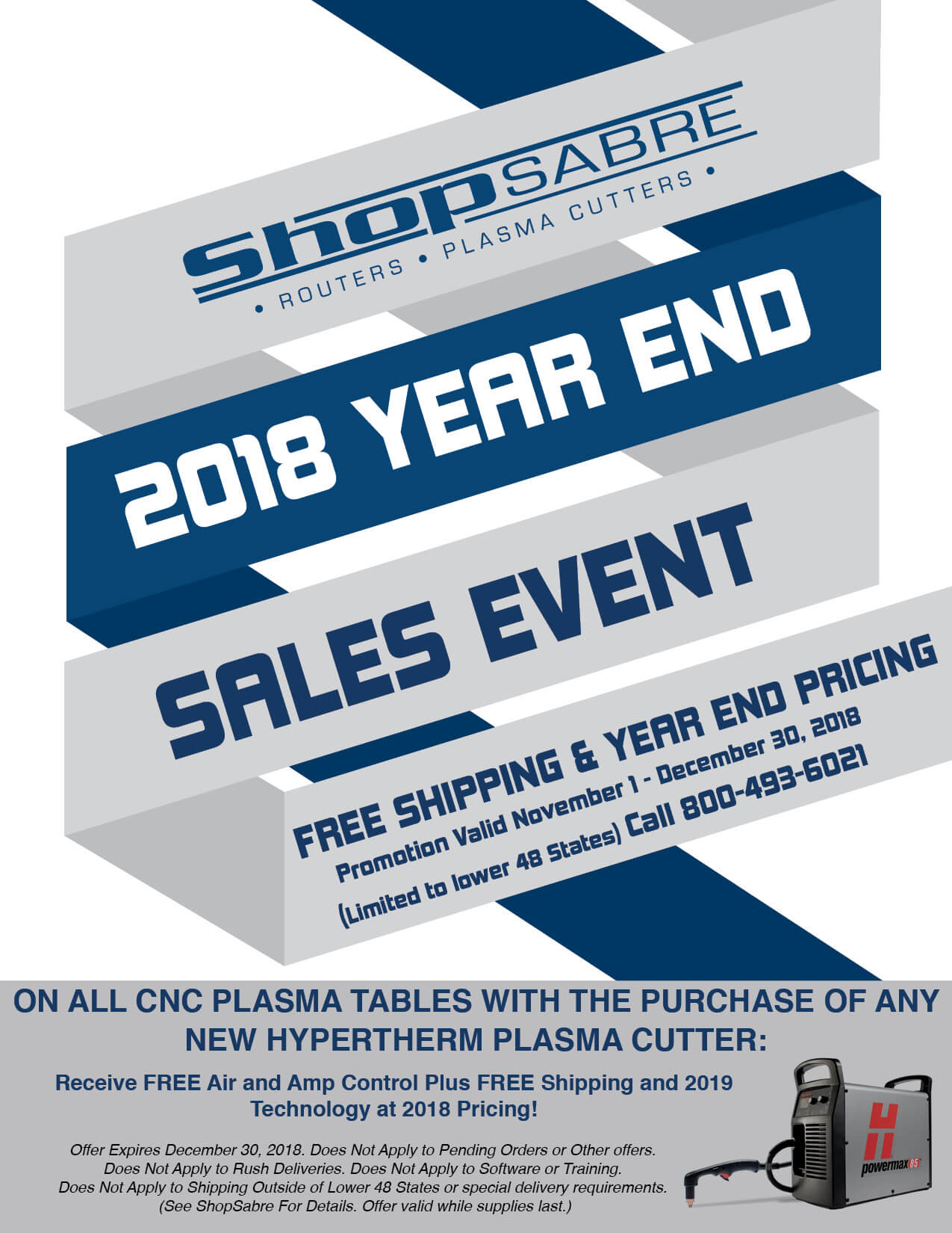 2018 Year End Sales Event