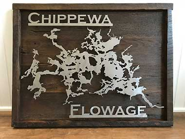 Chippewa Flowage Steel Plate