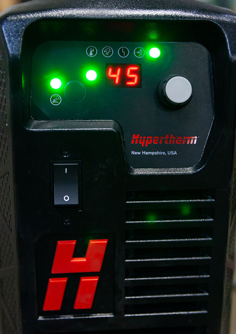 Automated Air Amp Control