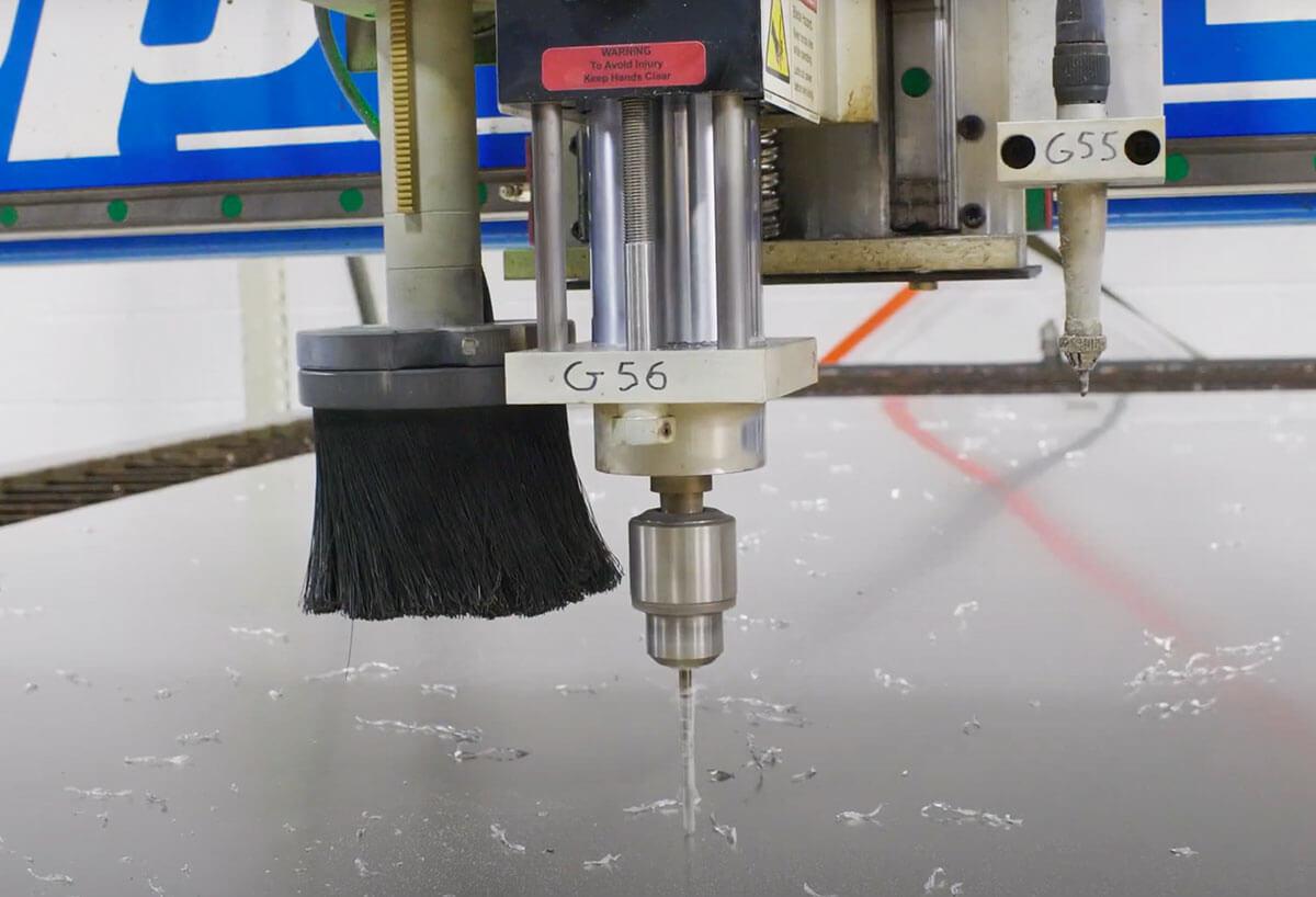 CNC Plasma Drill Feature