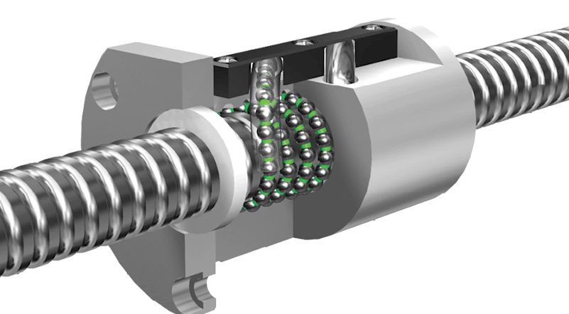 diagram of ball screw technology