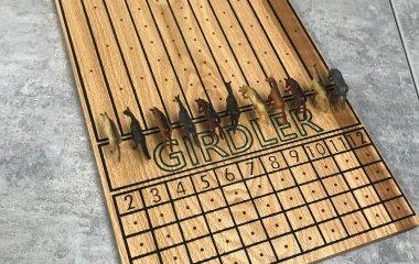 Horse Race Game Board